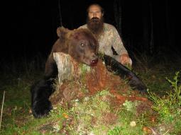 Трофеи медвежьей охоты